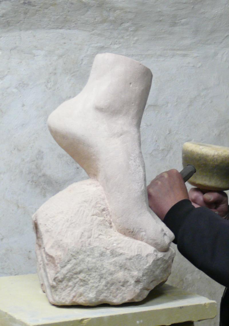 Skulpturenkurs mit Speckstein